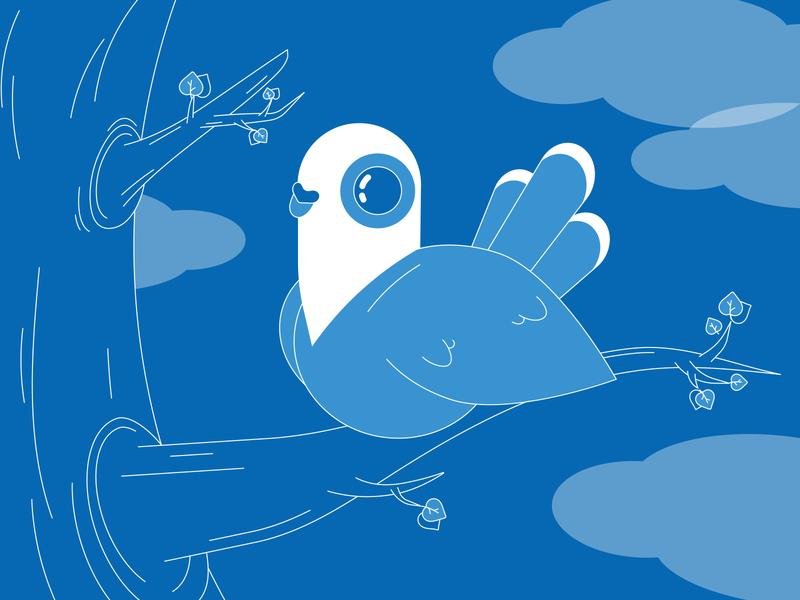 Bird pigeon dove birds bird web illustraion vector illustration