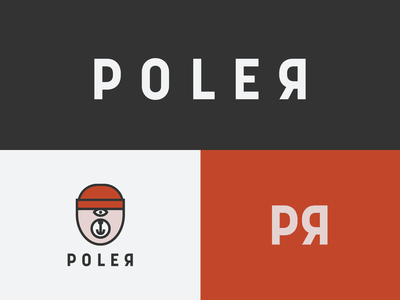 Poler Logo outdoors outdoor branding