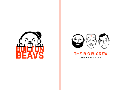 Built on Beavs Branding podcasting podcast logo podcast art podcast sports branding sports logo sports logodesign branding