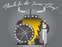 Viking Dribbble