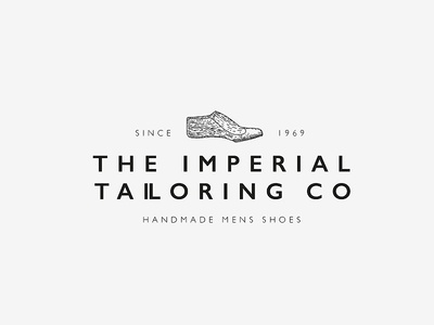 Handmade shoe logotype