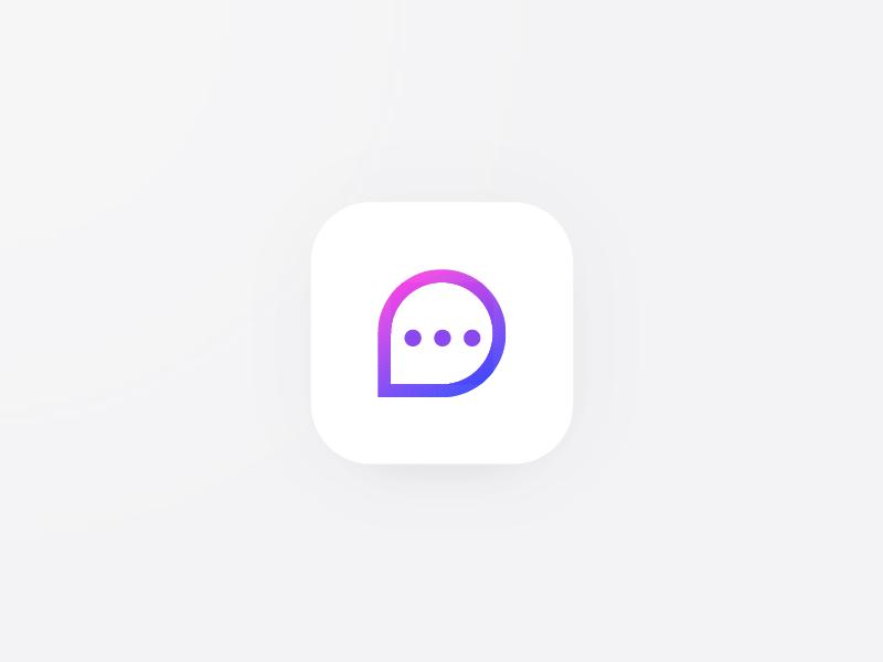 App Icon messaging message ui ios app icon icon