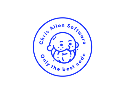 Developer Logo identity illustration brand logo icon