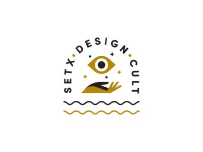 Design Cult logo brand identity cult icon illustration brand