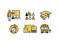 School Icons - Student Life