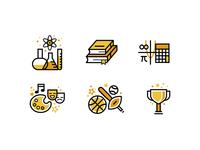 School Icons - Academics