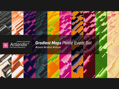 Free Gradient Maps - Pirate Event Set