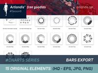DNArts Series - Bars Export  (free vectorial)