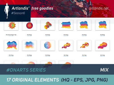 DNArts Series - Mix (free vectorial) diagram data free goodies illustrator vectorial free