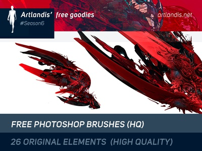 26 Free HQ Photoshop Brushes