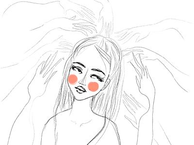 Pulled illustration