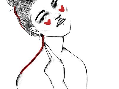 still here illustration