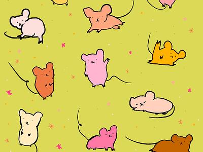 Alexa's Pub Mice cute art animal art animals mice cute illustration