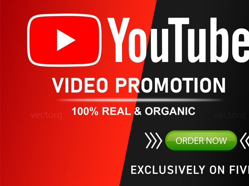 I will do organic youtube video promotion music promotion video seo video marketing viral video youtube promotion youtube banner youtube channel