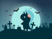 Belated Halloween Datamonster