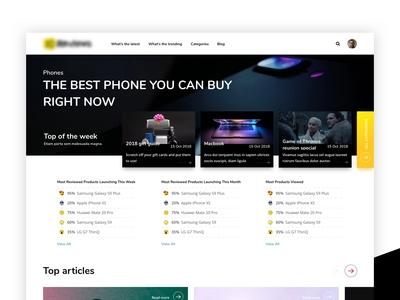 Website of Reviews ui web design webdesign web