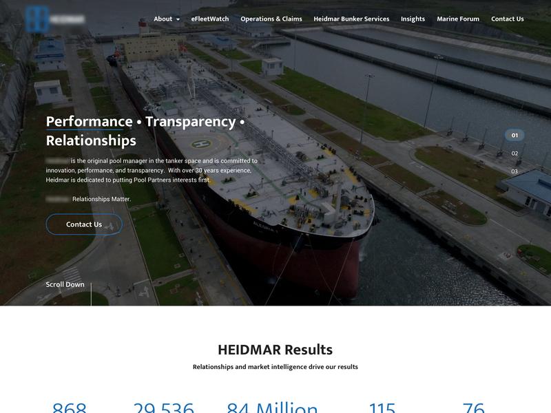 Website - Oil company hero design web  design web ui web design