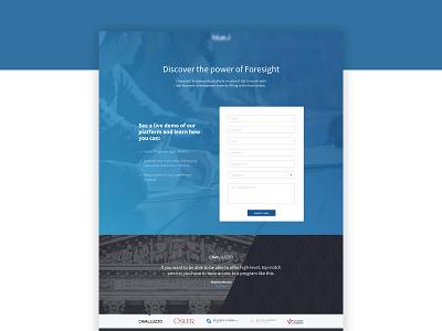 Landing Bluej landing page ui design web web  design ui web design