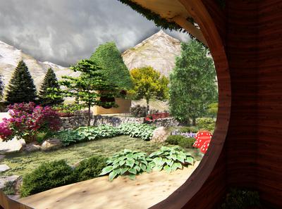 Fairy Village-Theme Park Concept Design