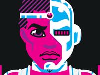 Neon Titans: Cyborg