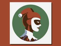 Headgear: Harley Quinn