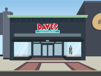 Dave's Comics & Collectibles
