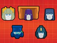 B-team Transformers heads
