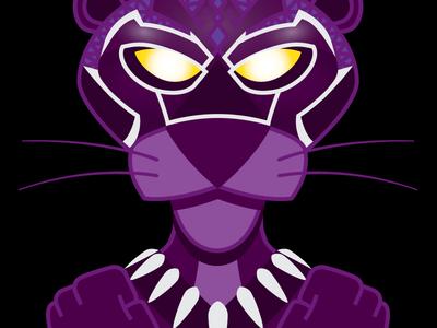Pink Panther Forever marvel mashup black panther pink panther
