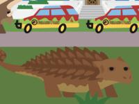 Sleep deprived Ankylosaurus