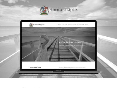 Charity organisation wordpress development web grayscale webdesign wordpress