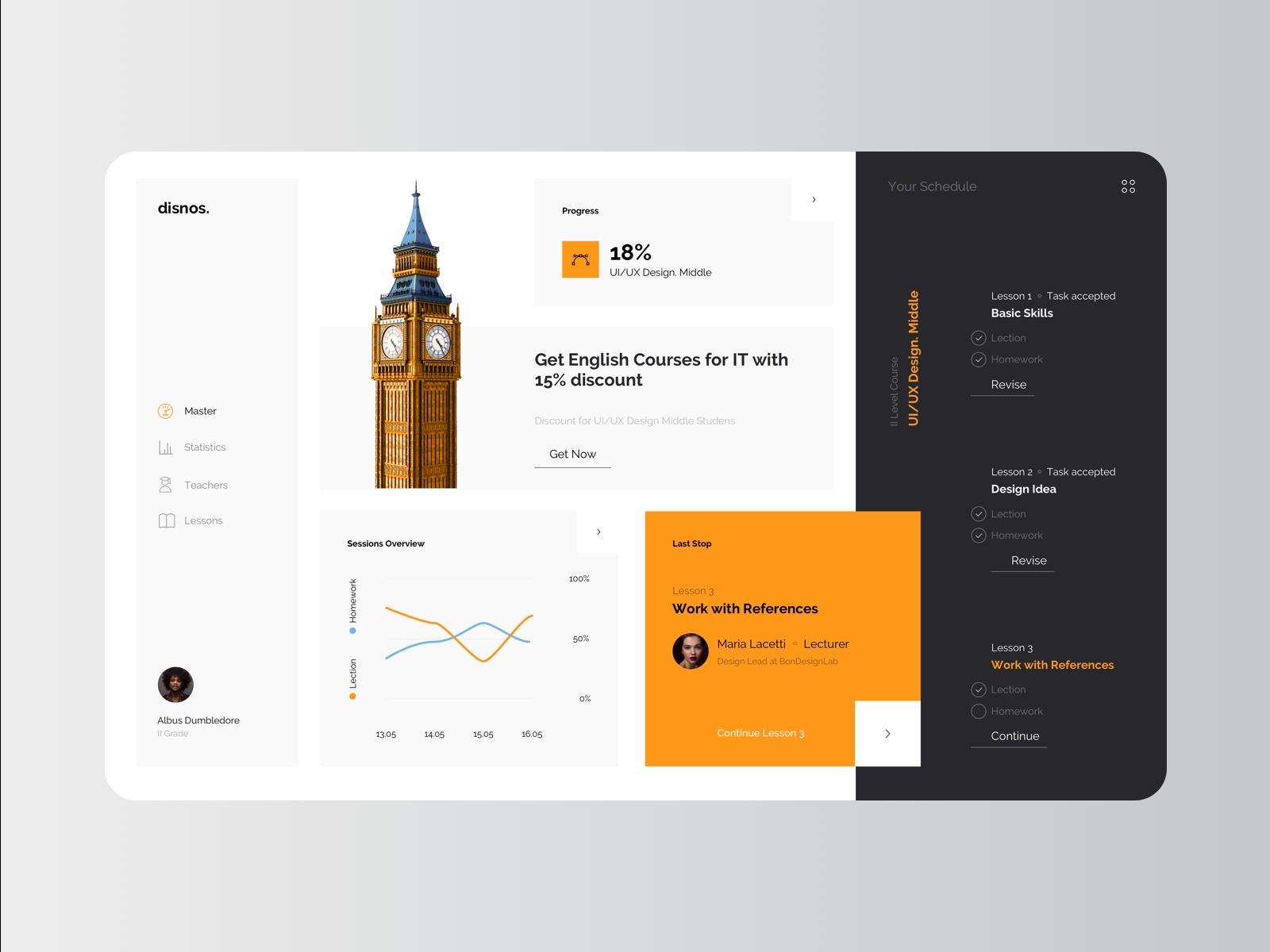 Disnos - eLearning Educational Platform