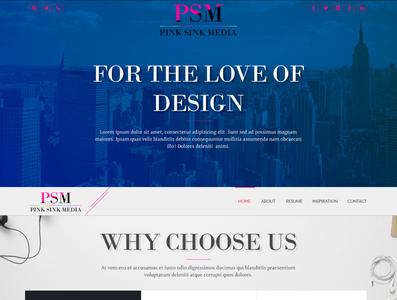 Web Development Company Landing Page Design