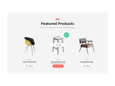 Ecommerce UI Card freeuikit clean ui web design design ecommerce modern design minimal uidesign ui  ux ui freebie