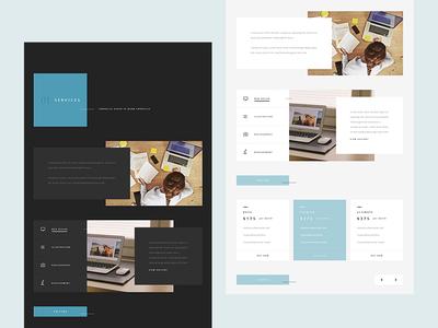 Personal Portfolio UI Design web design inspiration uxui modern minimal creative personal portrait webdesign typography uidesign ui