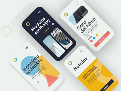 sunthalpy UI & color range vector branding graphic estorde graphic design color palette uidesign design ui