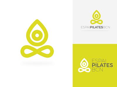 Espai Pilates barcelona bcn pilates design graphic logo logotype