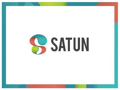Satun corporate image design graphic logotype logo satun