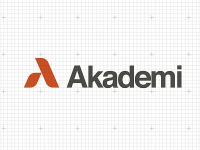Akademi graphic design logo anagram logotype akademi