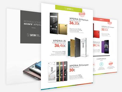 Brochure Satun graphic gráfico diseño design estorde satun catalogo catalogue brochure