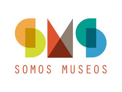 Museum concept logo graphic logotype logo sms somos museos