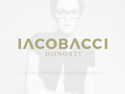 Iacobacci graphic logotype logo fashion donosti iacobacci