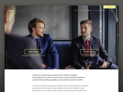 Clinique Oreille – profile page