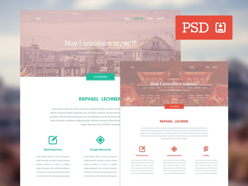 Variety – Free PSD Website Template website template freebie psd download variety freebiesbug