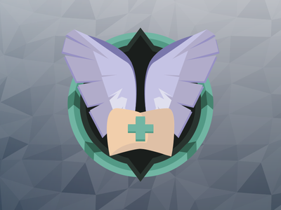 Flat Wing Icon