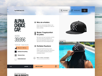 Alphacoice - Product Detailpage [Light Theme]
