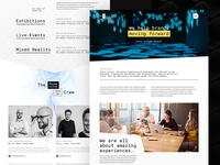 Responsive Spaces - About us Page