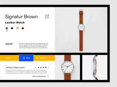 Customize Product // 33 // DailyUI Challenge skagen gordita thedesignersfoundry dailyui 33 dailyui customize product