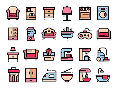 Home Stuff Icons
