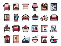 Home Stuff Icons