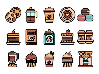 Coffee Shop Icons drink drink icon food icons cake icons cake sweet shop icons coffee icons tea coffee
